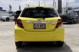 2015 Toyota Yaris NCP131R SX Yellow 4 Speed Automatic Hatchback
