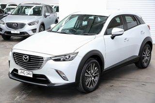 2016 Mazda CX-3 DK4W7A sTouring SKYACTIV-Drive i-ACTIV AWD Ceramic 6 Speed Sports Automatic Wagon.