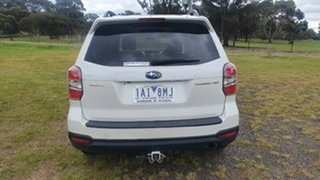 2013 Subaru Forester S4 MY13 2.5i-S Lineartronic AWD White 6 Speed Constant Variable Wagon.
