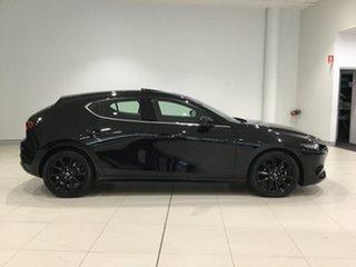 2020 Mazda 3 BP2HLA G25 SKYACTIV-Drive Astina Jet Black 6 Speed Sports Automatic Hatchback.