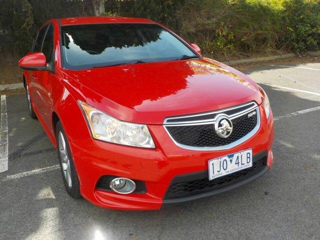 Used Holden Cruze JH SRi V Newtown, 2011 Holden Cruze JH SRi V Red 6 Speed Automatic Sedan