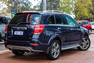 2018 Holden Captiva CG MY18 LTZ AWD Blue 6 Speed Sports Automatic Wagon.