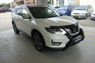 2017 Nissan X-Trail T32 Ti X-tronic 4WD White 7 Speed Constant Variable Wagon.
