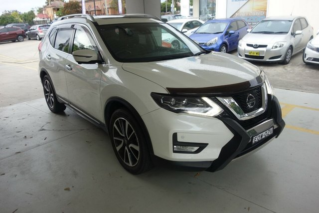 Used Nissan X-Trail T32 Ti X-tronic 4WD East Maitland, 2017 Nissan X-Trail T32 Ti X-tronic 4WD White 7 Speed Constant Variable Wagon