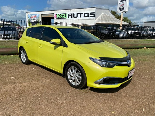 Used Toyota Corolla ZRE182R Ascent Sport S-CVT Berrimah, 2017 Toyota Corolla ZRE182R Ascent Sport S-CVT Green 7 Speed Constant Variable Hatchback