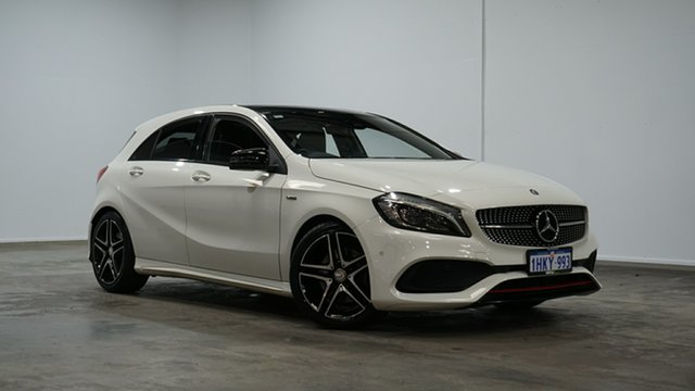 Used Mercedes-Benz A-Class W176 807MY A250 D-CT 4MATIC Sport Welshpool, 2016 Mercedes-Benz A-Class W176 807MY A250 D-CT 4MATIC Sport White 7 Speed