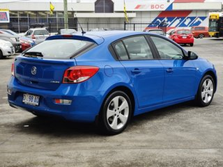 2013 Holden Cruze JH Series II MY13 CD Perfect Blue 6 Speed Sports Automatic Hatchback.