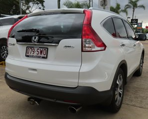 2013 Honda CR-V 30 VTi-L (4x4) White 5 Speed Automatic Wagon.