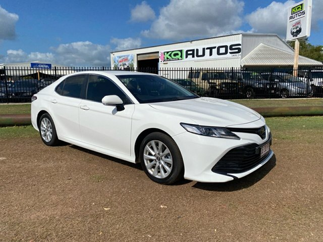 Used Toyota Camry ASV70R Ascent Berrimah, 2018 Toyota Camry ASV70R Ascent White 6 Speed Sports Automatic Sedan