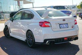 2014 Subaru WRX V1 MY15 STI AWD White 6 Speed Manual Sedan.