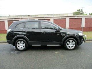 2011 Holden Captiva CG Series II 7 SX Black 6 Speed Sports Automatic Wagon.