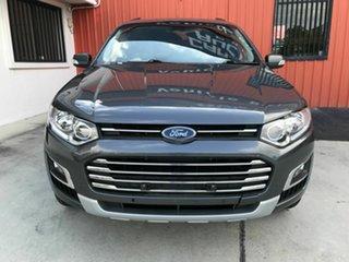 2015 Ford Territory SZ MkII Titanium Seq Sport Shift Grey 6 Speed Sports Automatic Wagon.