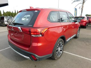 2018 Mitsubishi Outlander ZL MY18.5 ES AWD Red 6 Speed Constant Variable Wagon