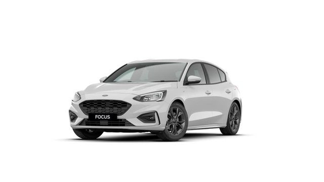 Used Ford Focus SA 2019.75MY ST-Line Midland, 2019 Ford Focus SA 2019.75MY ST-Line White 8 Speed Automatic Hatchback