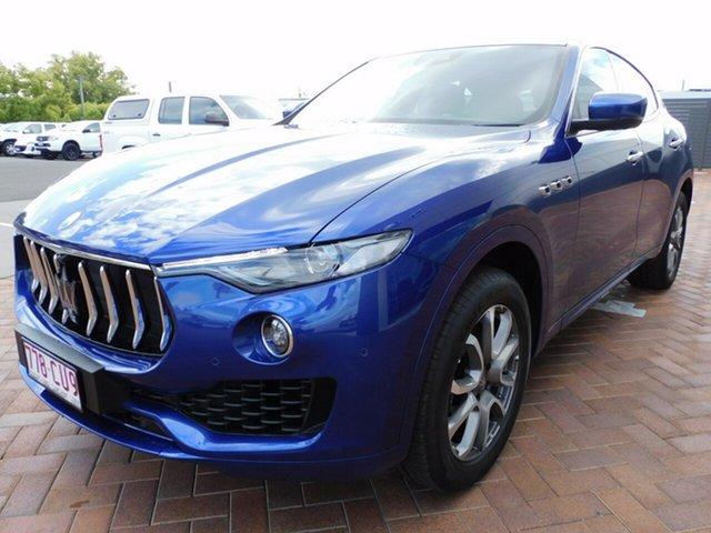 Used Maserati Levante M161 MY18 Q4 Toowoomba, 2017 Maserati Levante M161 MY18 Q4 Blue 8 Speed Sports Automatic Wagon
