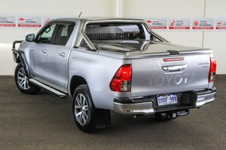 2018 Toyota Hilux GUN126R MY19 SR5+ (4x4) Silver Sky 6 Speed Automatic Double Cab Pick Up.