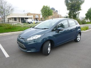2009 Ford Fiesta WS LX Blue 4 Speed Automatic Hatchback