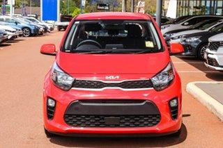 2021 Kia Picanto JA S Red Automatic Hatchback.