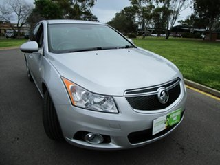 2013 Holden Cruze JH MY13 CD Equipe Silver 5 Speed Manual Hatchback.