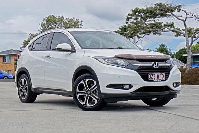 Used Honda HR-V MY16 VTi-L Capalaba, 2016 Honda HR-V MY16 VTi-L White 1 Speed Constant Variable Hatchback