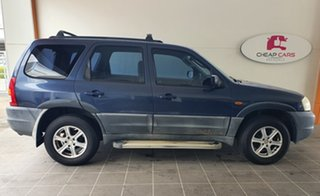 2001 Mazda Tribute Limited Blue 4 Speed Automatic Wagon