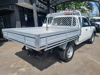 2008 Ford Ranger PJ 07 Upgrade XL (4x2) White 5 Speed Manual Super Cab Chassis