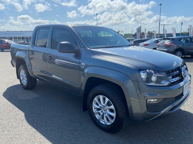 Used Volkswagen Amarok 2H MY19 TDI550 4MOTION Perm Core Gladstone, 2018 Volkswagen Amarok 2H MY19 TDI550 4MOTION Perm Core Grey 8 Speed Automatic Utility