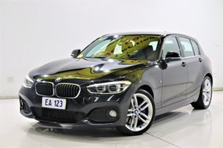 2016 BMW 1 Series F20 LCI 125i M Sport Black/Grey 8 Speed Sports Automatic Hatchback.