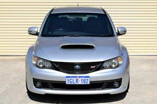 2009 Subaru Impreza G3 MY10 WRX STi AWD Spec R Silver 6 Speed Manual Hatchback.