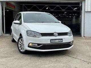 2016 Volkswagen Polo 6R MY17 81 TSI Comfortline 7 Speed Auto Direct Shift Hatchback.