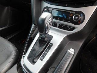 2012 Ford Focus LW Titanium PwrShift Black 6 Speed Sports Automatic Dual Clutch Hatchback