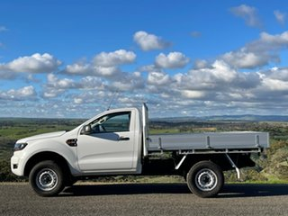 2017 Ford Ranger PX MkII XL White 6 Speed Manual Cab Chassis