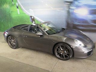 2014 Porsche 911 991 Carrera 4 PDK AWD Agate Grey 7 Speed Sports Automatic Dual Clutch Cabriolet.