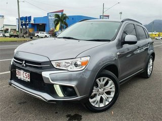 2018 Mitsubishi ASX XC MY19 LS 2WD Silver 1 Speed Constant Variable Wagon.