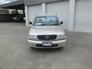 2003 Mazda Bravo B2600 DX 4x2 Champagne 5 Speed Manual Cab Chassis.