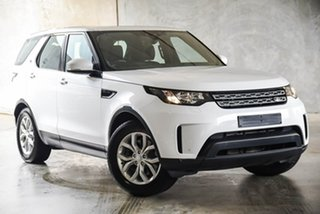 2017 Land Rover Discovery Series 5 L462 MY17 S White 8 Speed Sports Automatic Wagon.