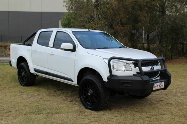 Used Holden Colorado RG MY15 LS Crew Cab Ormeau, 2015 Holden Colorado RG MY15 LS Crew Cab White 6 Speed Sports Automatic Utility