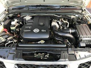 2010 Nissan Navara D40 ST Silver 6 Speed Manual Utility