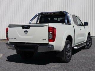 2020 Nissan Navara D23 S4 MY20 ST-X King Cab White Pearl 7 Speed Automatic Kingcab.