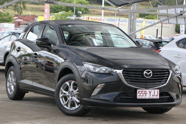Used Mazda CX-3 DK2W7A Maxx SKYACTIV-Drive Bundamba, 2018 Mazda CX-3 DK2W7A Maxx SKYACTIV-Drive Black 6 Speed Sports Automatic Wagon