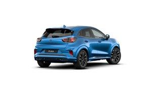 2020 Ford Puma JK 2021.25MY ST-Line V Blue 7 Speed Sports Automatic Dual Clutch Wagon.