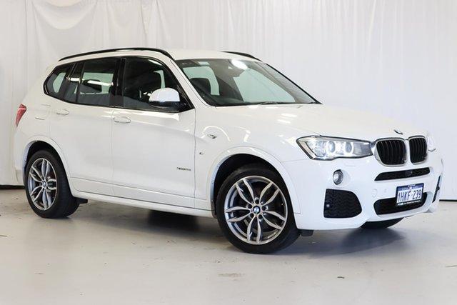 Used BMW X3 F25 LCI xDrive20i Steptronic Wangara, 2016 BMW X3 F25 LCI xDrive20i Steptronic White 8 Speed Automatic Wagon