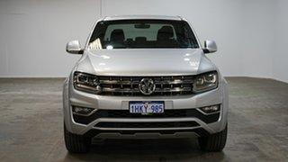 2018 Volkswagen Amarok 2H MY19 TDI580 4MOTION Perm Ultimate Silver 8 Speed Automatic Utility