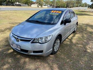2008 Honda Civic 8th Gen MY08 VTi 5 Speed Manual Sedan.