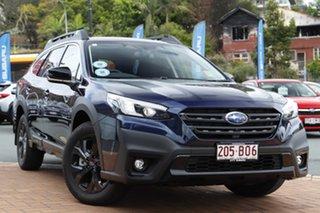 2021 Subaru Outback B7A MY21 AWD Sport CVT Dark Blue 8 Speed Constant Variable Wagon.