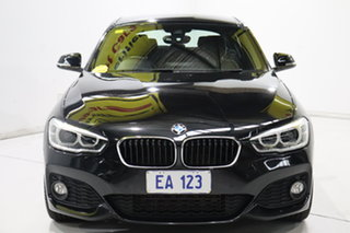 2016 BMW 1 Series F20 LCI 125i M Sport Black/Grey 8 Speed Sports Automatic Hatchback