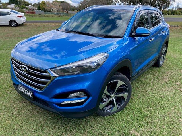 Used Hyundai Tucson TLE Elite R-Series (AWD) South Grafton, 2017 Hyundai Tucson TLE Elite R-Series (AWD) R3u-Ara Blue. Metallic Paint 6 Speed Automatic Wagon