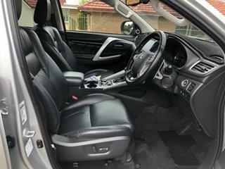 2016 Mitsubishi Pajero Sport QE MY17 Exceed Silver 8 Speed Sports Automatic Wagon