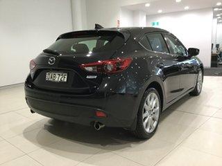 2015 Mazda 3 BM5438 SP25 SKYACTIV-Drive GT Jet Black 6 Speed Sports Automatic Hatchback.