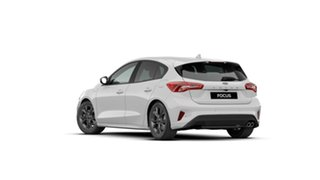 2019 Ford Focus SA 2019.75MY ST-Line White 8 Speed Automatic Hatchback